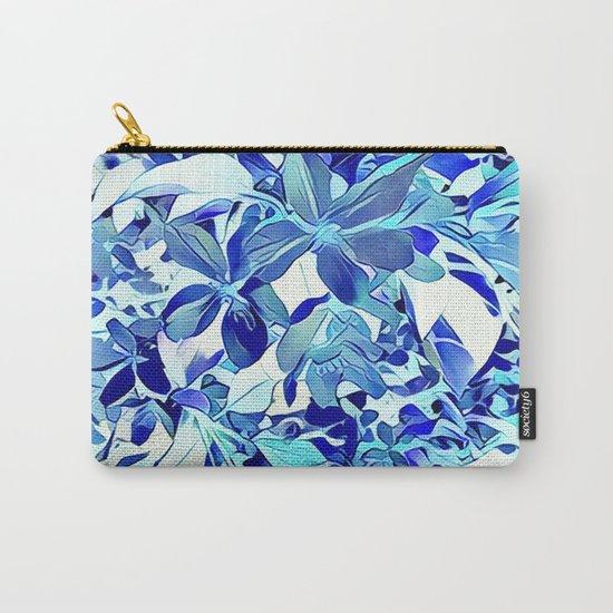 Blue sakura Carry-All Pouch