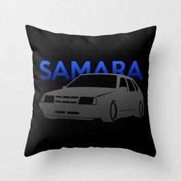 Lada Samara Throw Pillow