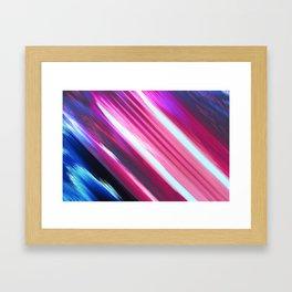 lines 2 Framed Art Print
