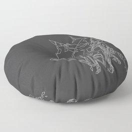 Cat Movement Floor Pillow