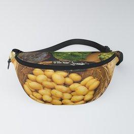 Market Vegetables in France Fanny Pack