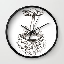 Rooted Love Wall Clock