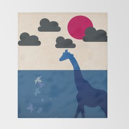 Africa Throw Blanket