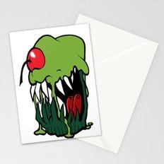 zombie cupcake Stationery Cards