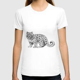 Snow Leopard cub g142 T-shirt
