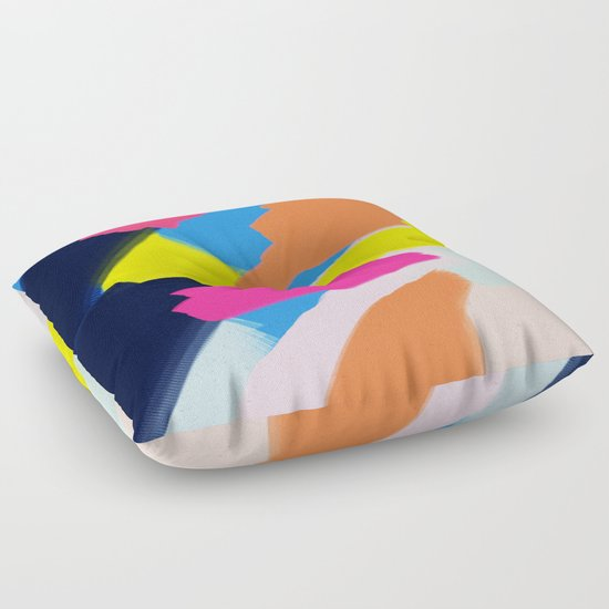 Floor Pillows Playroom : Pastel Play Floor Pillow by Stuff. Society6