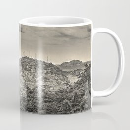 Guayaquil Outskirts Aerial View from Botanical Garden Coffee Mug