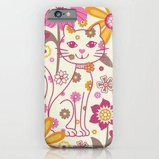 Garden Cat iPhone 6s Slim Case