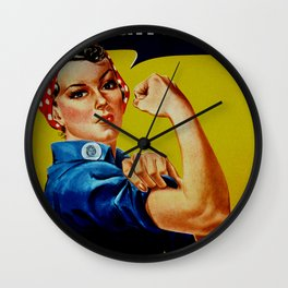 We Can Do It - WWII Poster Wall Clock