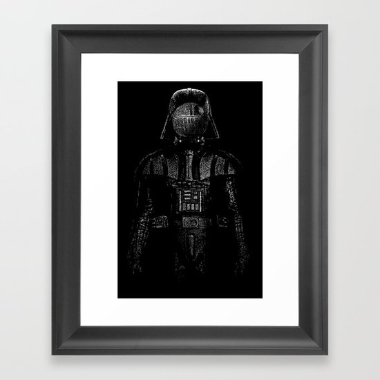 Darth Magritte Framed Art Print