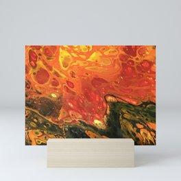 The Floor is Lava Mini Art Print