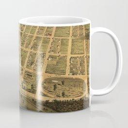 Vintage Egg Harbor Township NJ Map (1865) Coffee Mug