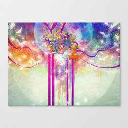 Automatic Laughter Canvas Print