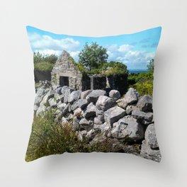 Coastal Ireland Throw Pillow