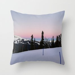 Early morning serenity Throw Pillow