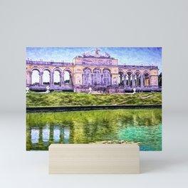Schönbrunn Gloriette - Palace of Vienna Mini Art Print