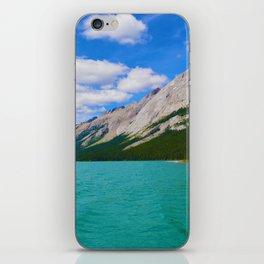 Maligne Lake in Jasper National Park, Canada iPhone Skin