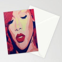 Rihanna Painting Stationery Cards