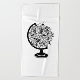 What a Wonderful World Beach Towel