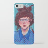 birdy iPhone & iPod Cases featuring Birdy by Alice Holleman