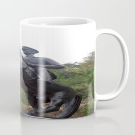 Ataturk on Horseback Coffee Mug