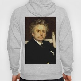 Edvard Grieg (1843 – 1907) portrait by Eilif Peterssen in 1891 Hoody