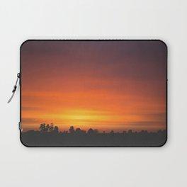 SUNRISE - SUNSET - ORANGE SKY - PHOTOGRAPHY Laptop Sleeve