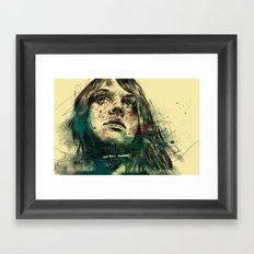 about tommorow Framed Art Print