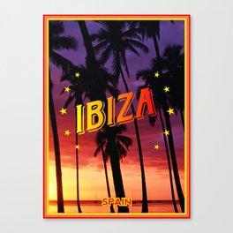 Ibiza, sunset Canvas Print