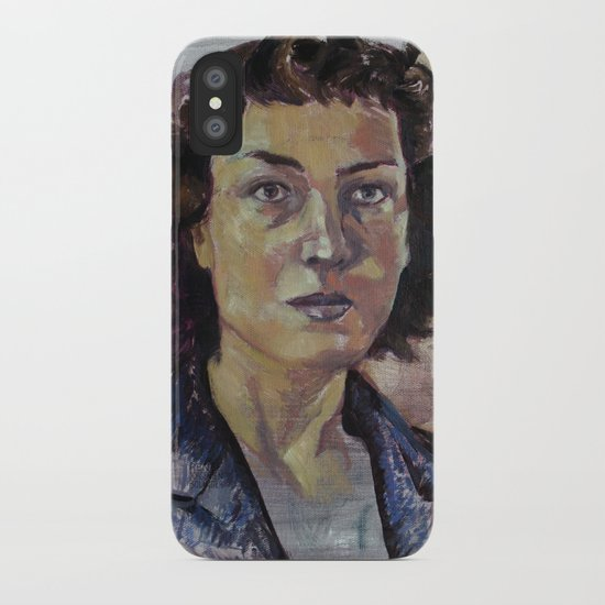 Philippa Foot iPhone Case