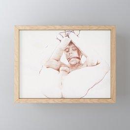 Slave Framed Mini Art Print