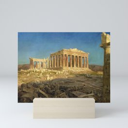 12,000pixel-500dpi - Frederic Edwin Church - The Parthenon - Digital Remastered Edition Mini Art Print