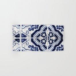 Azulejo VI - Portuguese hand painted tiles Hand & Bath Towel