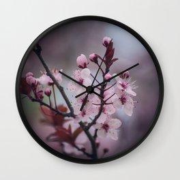 183 - Blossom Wall Clock