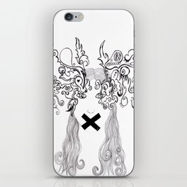 eyes tell the story iPhone Skin