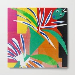 Henri Matisse - The Creole Dancer modernism portrait painting Metal Print