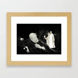 Betrayal in the Garden Framed Art Print
