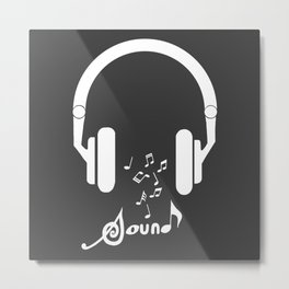 Sound and music Metal Print