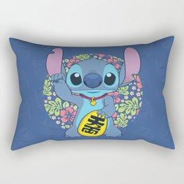 Maneki Stitch Rectangular Pillow