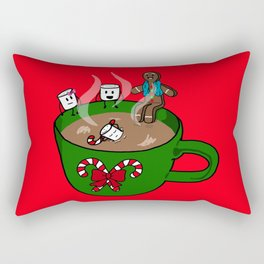 Relaxing Hot Cocoa Rectangular Pillow