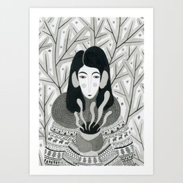 Wintertime Art Print