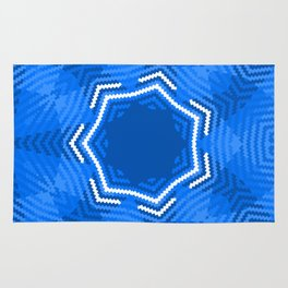 Indigo Mandala Magic 2 Rug