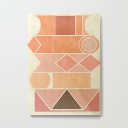 Mosaico #society6 #buyart #decor Metal Print