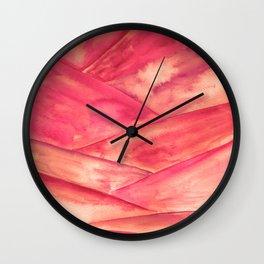 Purple Dune Wall Clock