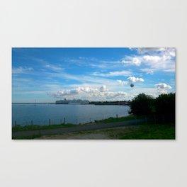 Tallinn Seaside Canvas Print