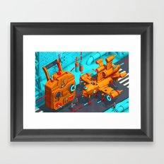 Drone Site Framed Art Print