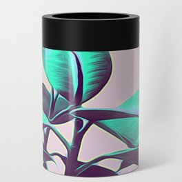 Iridescent Green Leaves Can Cooler