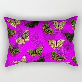 PurpleLightButterfly Rectangular Pillow