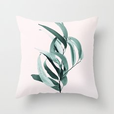 Eucalyptus II - Australian gum tree Throw Pillow