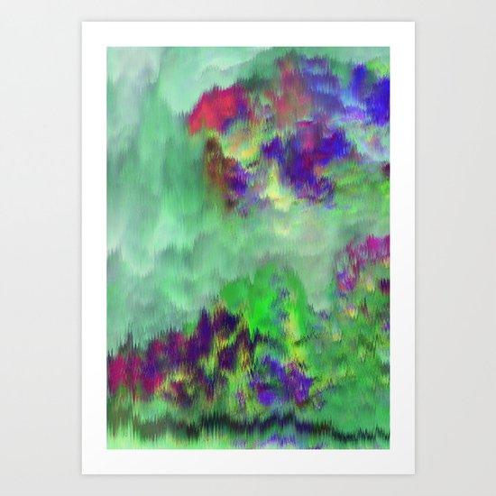 Jade Storm Art Print